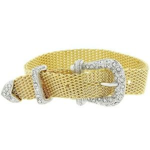 Jewelry - Golden Buckle Bracelet B01198T-C02